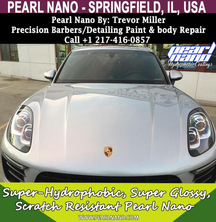 Pearl nano coating springfield illinois ceramic coating installer trevor miller