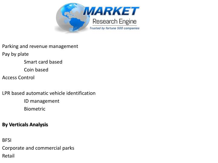 Parking and revenue management