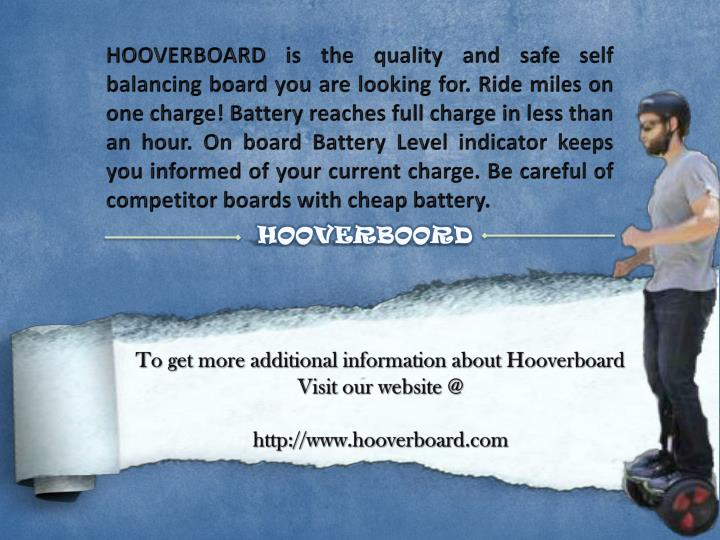 HOOVERBOARD