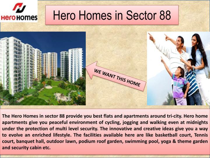 Hero Homes in Sector 88