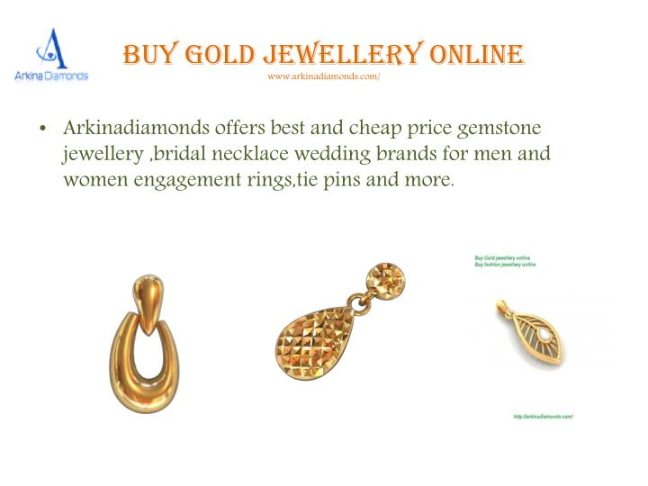 Buy gold jewellery online www arkinadiamonds com