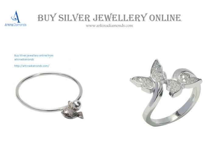 Buy Silver jewellery online