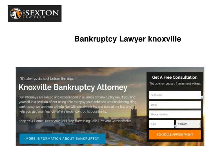 Bankruptcy Lawyer knoxville