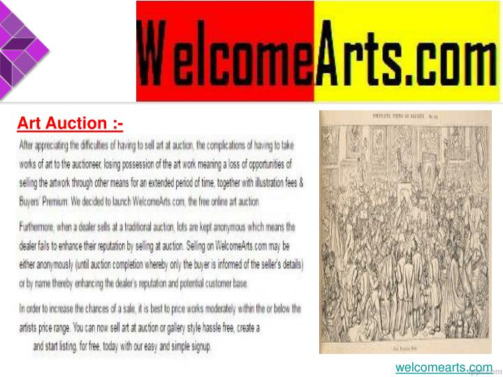 Art Auction :-
