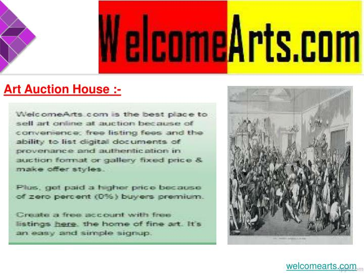 Art Auction House :-