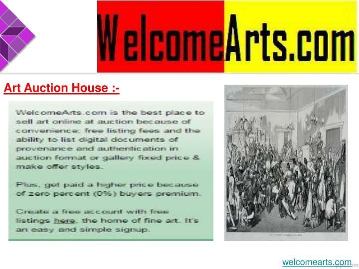 Art Auction House :-