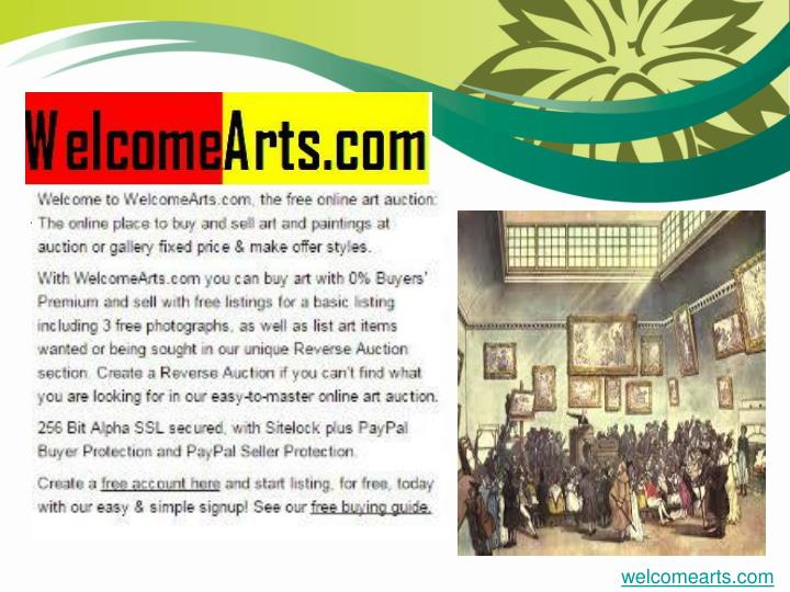 WelcomeArts.com