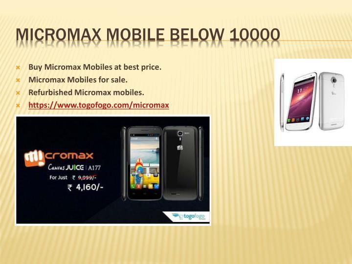 Micromax Mobiles SWOT Analysis, Competitors & USP