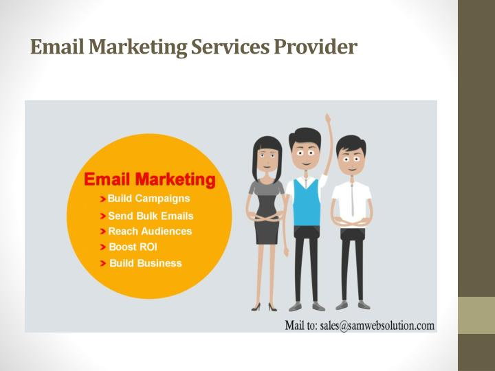 Email Marketing Services Provider