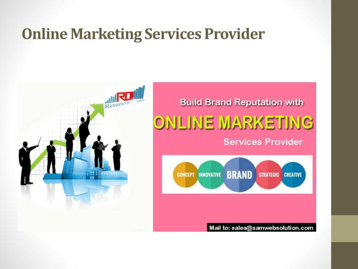 Online Marketing Services Provider