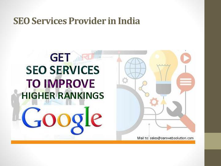 SEO Services Provider in India