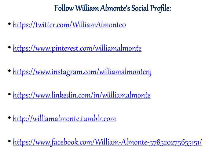 Follow William