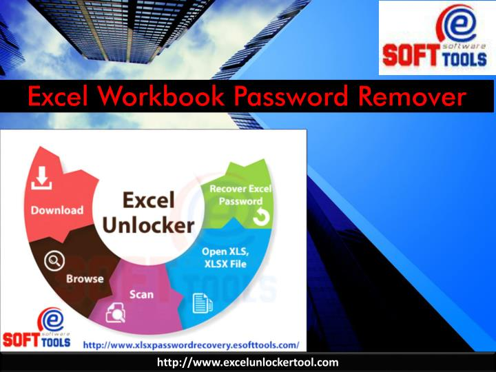 Excel workbook password remover