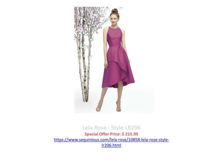 Lela Rose - Style LR206