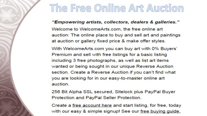 The Free Online Art