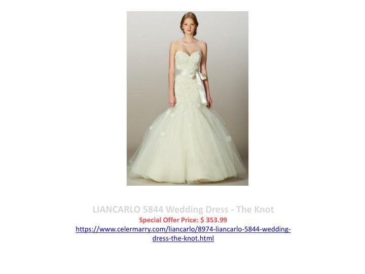 LIANCARLO 5844 Wedding Dress - The Knot