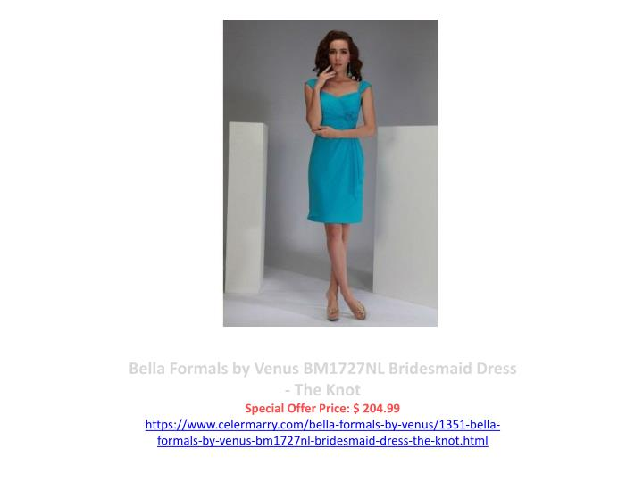 Bella Formals by Venus BM1727NL Bridesmaid Dress - The Knot