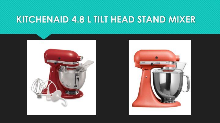 KITCHENAID 4.8 L TILT HEAD STAND MIXER