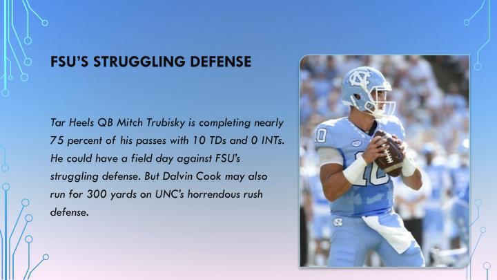 FSU's struggling defense
