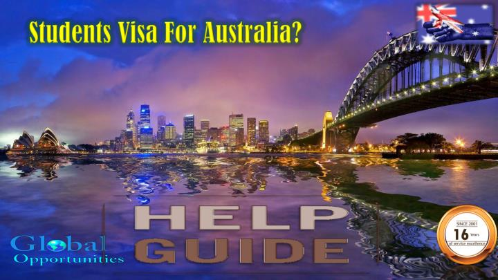Students Visa For Australia?