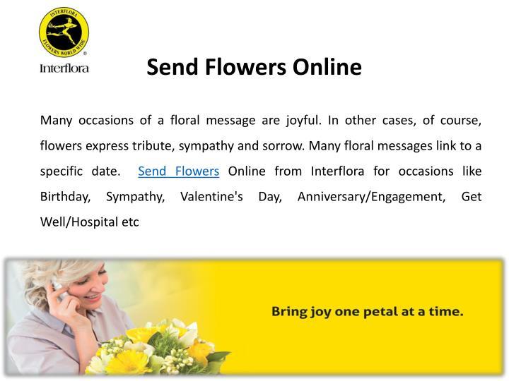 Send Flowers Online