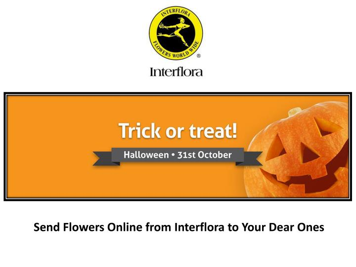 Send Flowers Online from