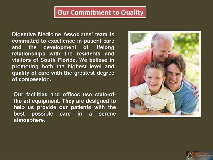 Our Commitment to Quality