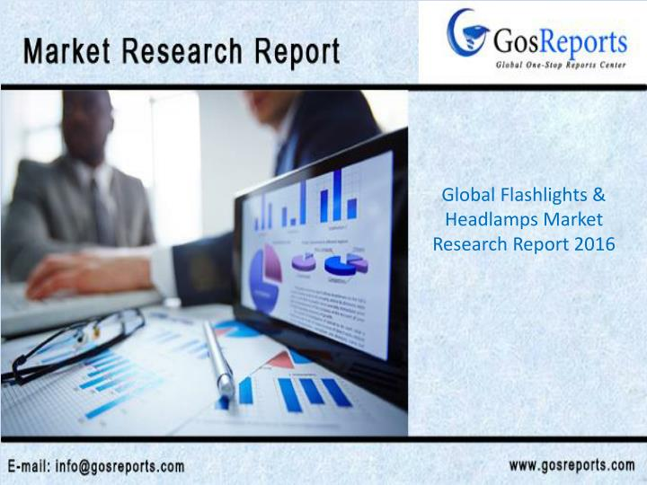 Global Flashlights & Headlamps Market Research Report 2016