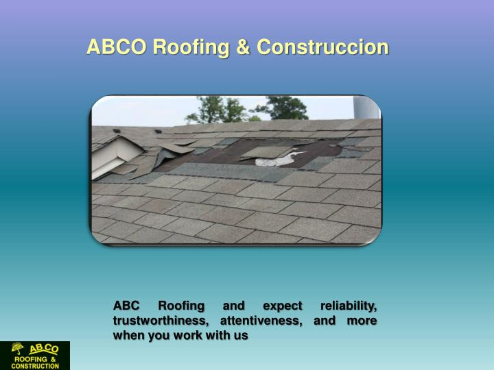 ABCO Roofing &