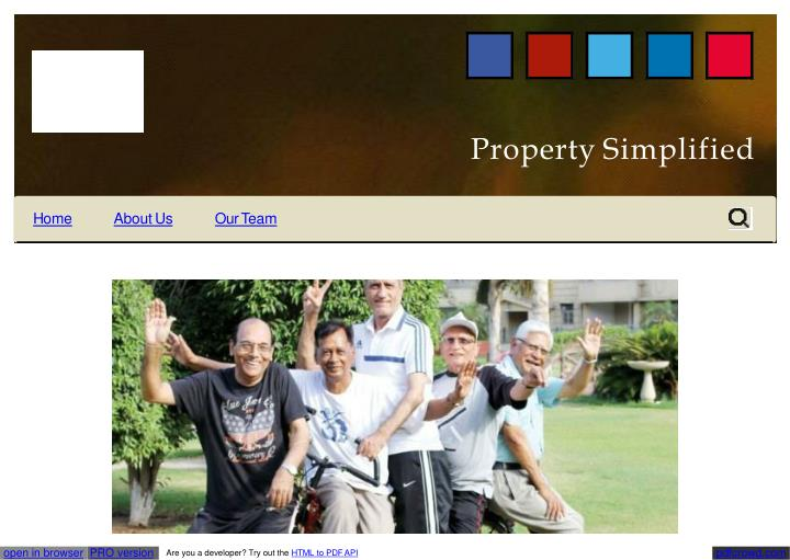 Property simplified