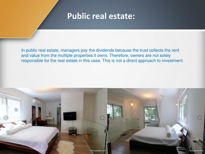Public real estate: