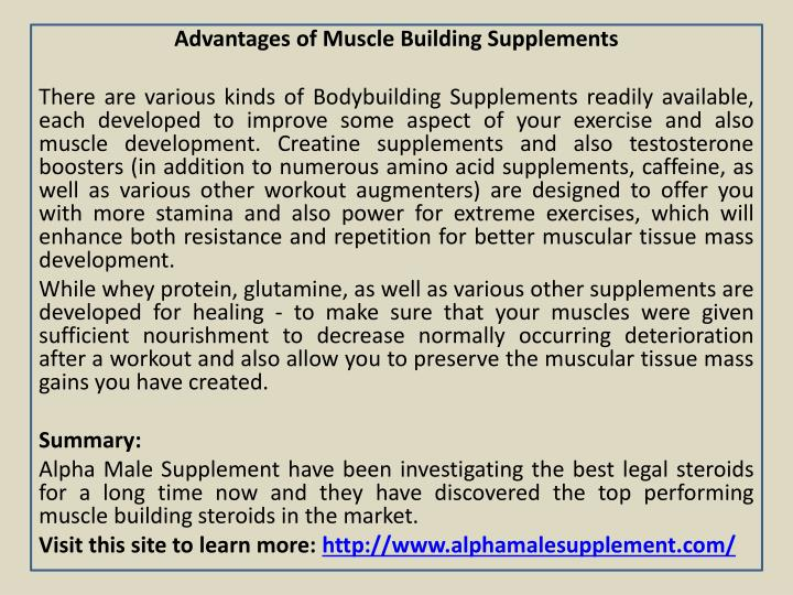 Advantages of Muscle Building