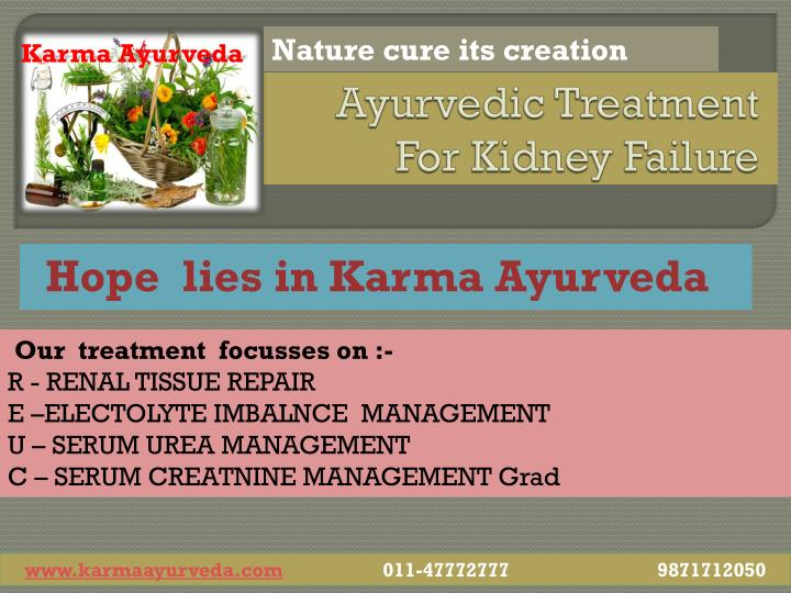 Ayurvedic treatment for kidney failure2