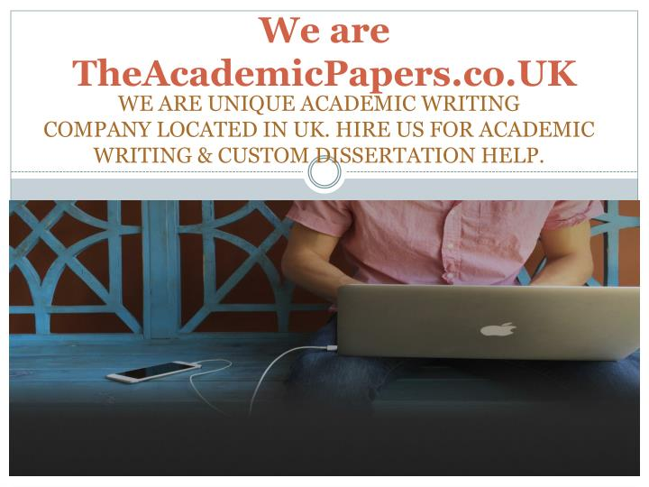 We are theacademicpapers co uk