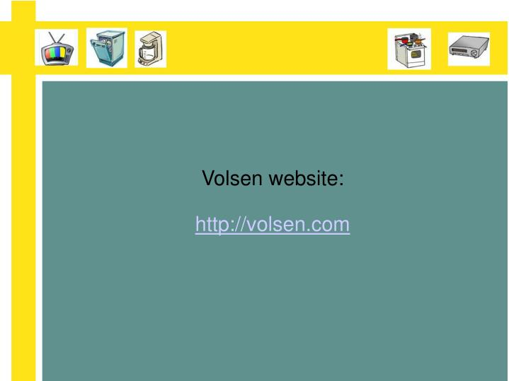 Volsen website:
