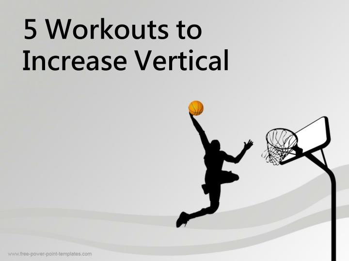 5 workouts to increase vertical