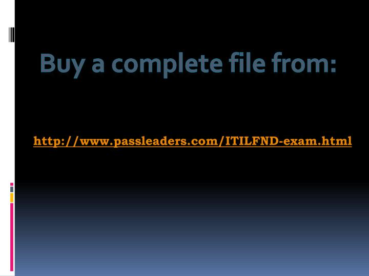 Buy a complete file from: