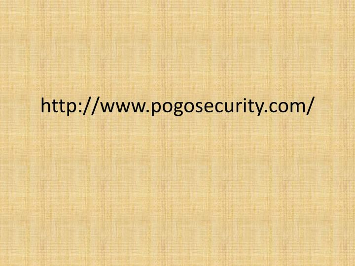 http://www.pogosecurity.com/