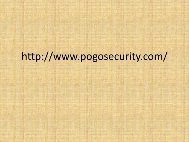 http://www.pogosecurity.com/