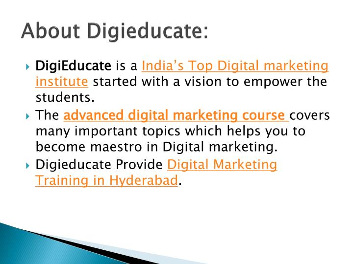 About digieducate