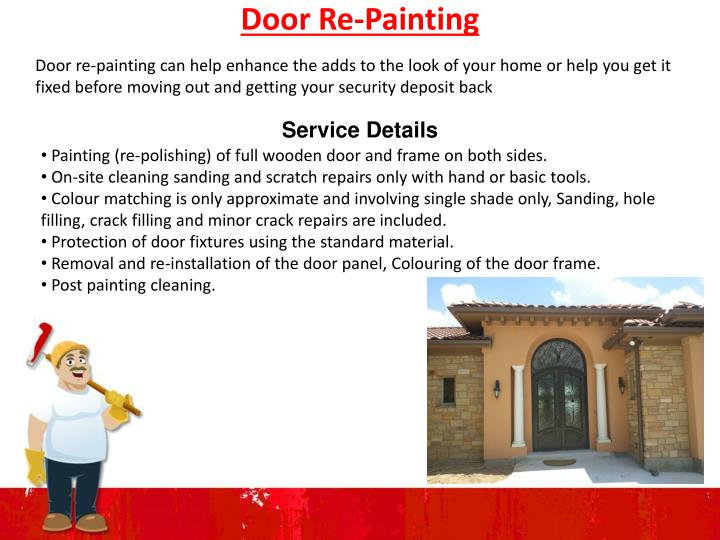 Door Re-Painting