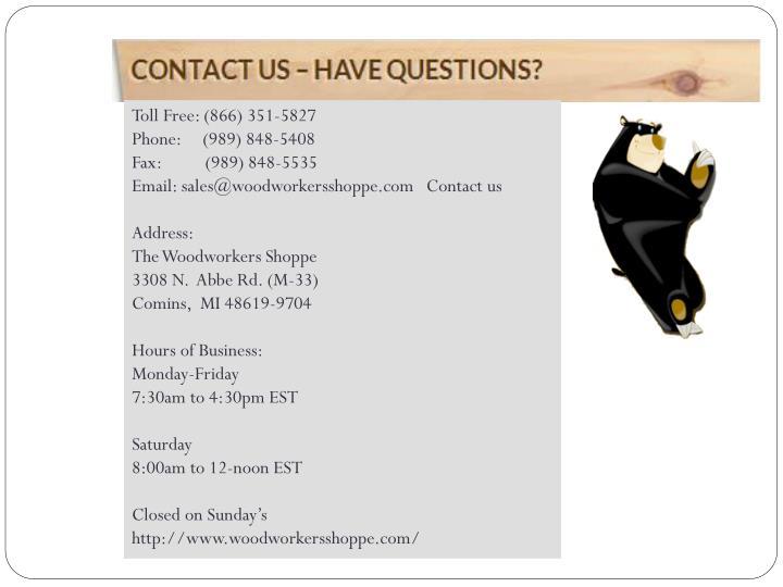 Toll Free: (866) 351-5827
