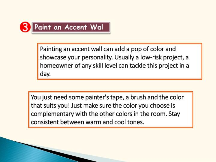Paint an Accent