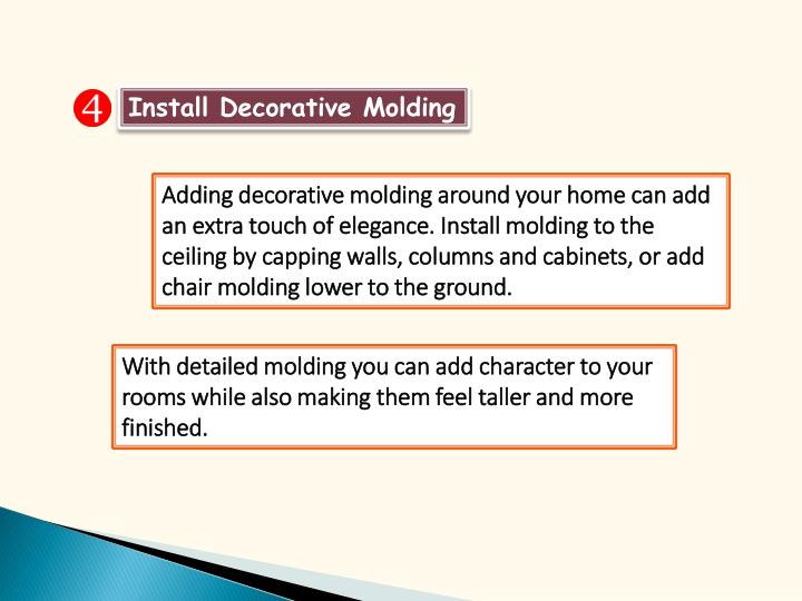 Install Decorative