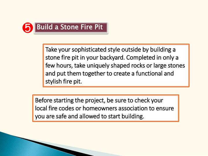 Build a Stone Fire Pit