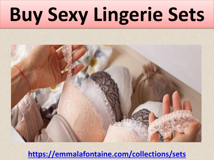 Buy Sexy Lingerie Sets