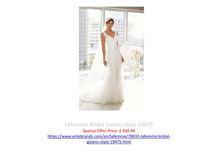 Lafemme Bridal Gowns Style 19475