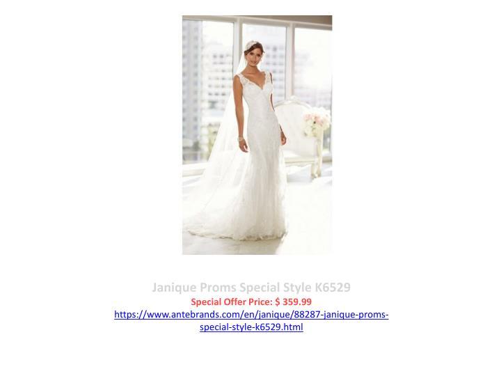 Janique Proms Special Style K6529