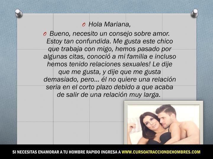 Hola Mariana,