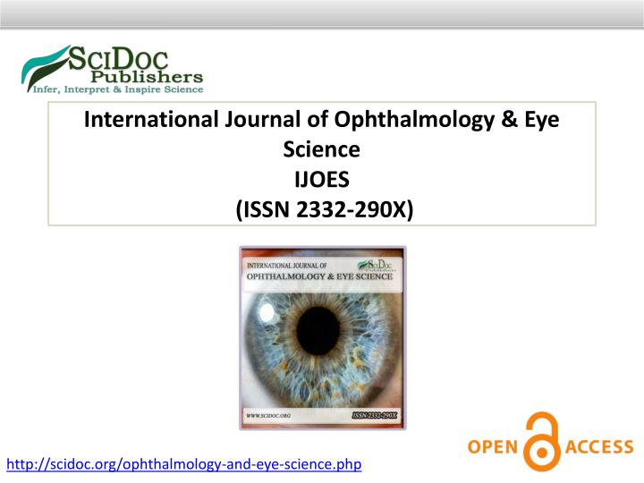 International Journal of Ophthalmology & Eye Science